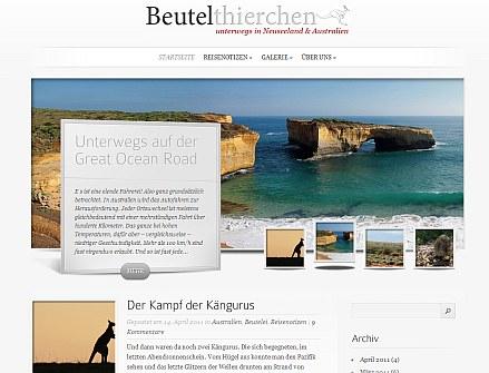 Beutelthierchen-Blog Screenshot