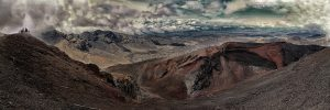Der Red Crater des Mt. Tongariro